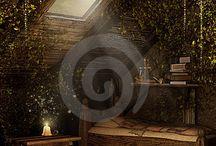 Narnia kamer / Interior design board