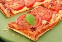 Recettes de tarte, quiche, pizza à essayer