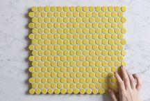TileClouds Yellow Tiles