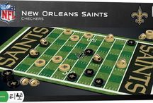 NFL Checkers Game / NFL Checkers Board Game.  Perfect gift for every sport football enthusiast.