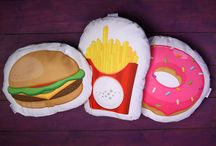 Fast Food and Donuts / Everything #FastFood and #Donut related fresh from the Puckator Design Office! #giftware #giftideas #accessories