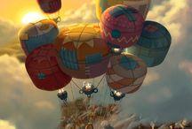 Up up and away / by Micki Kowalik