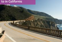 Places to visit on a California road trip holiday / Places not to miss when driving around California