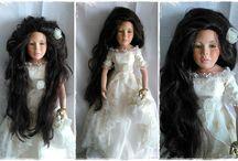 DOLLS - Porcelain dolls
