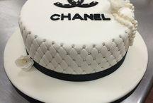 chanel torták