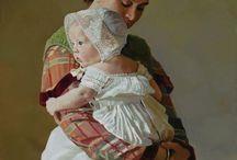 MALARSTWO 3-mama i ja,i tata