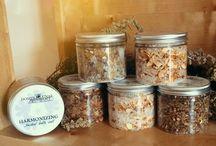 Herbal salts / Herbal salts for spells and rituals - plastic 200ml jars
