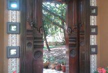 Hoysala Village resort decor