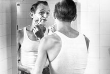 Men shaving / by Toi Brownstone