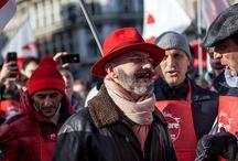 Flash Mob del 9 febbraio / Flash Mob in Piazza Duomo a Milano