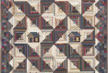 Quilts: Civil War Repro Fabrics / quilts made from reproductions of Civil War era fabrics