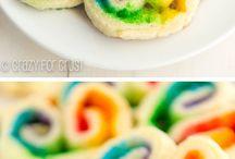 Crazy Colourful/Rainbow Birthday Party
