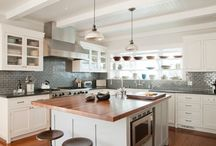 Kitchen Remodel  / Kitchen renovation ideas.  Farmhouse style, simple style. / by Connie Martin