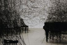 Art installation Chiharu Shiota