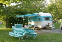 """Vintage Campers / For the love of """"glamping"""""""