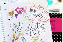 Calligraphy, Typography, Lettering & Doodles