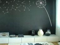 Chalkboard + Magnetic Wall