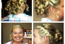 Cierra's Hair Styles / So I can look back at the styles I used on various events.  / by Cierra Vaught
