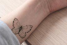 farfalle tatuate