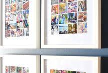 Photo walls/galleries