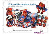 Fiesta de Spiderman-Hombre Araña / Ideas y artículos para tu fiesta de Spiderman.