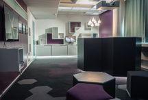 Sisu Interior: Viimeisimmät kohteemme / Sisun suunnittelemia ja toteuttamia toimitilakohteita