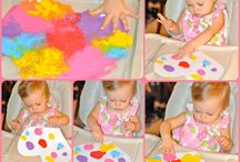 keep kids busy / art and creative activities