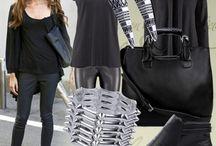 1 model na wiele sposobów / Podobają Wam się jakieś buty, ale nie wiecie do czego je założyć? A może macie już swoją ulubioną parę i chcecie ją nosić codziennie, ale na wiele sposobów? Dlatego proponujemy Wam troszkę podpowiedzi, jak i z czym nosić jesienne sztyblety, żeby być super modną! LINK DO BUTÓW: http://mbuty.pl/dla_niej/botki_mh13778_westernowe_czarne.html