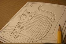 Art Lesson: Printmaking