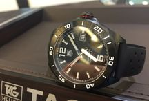 Tag Heuer Formula 1 calibre 5 automatic black / Tag Heuer Formula 1 calibre 5 automatic black