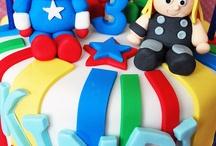 Aidan bday cakes