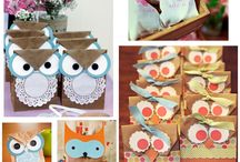 Owl birthday theme