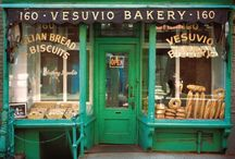 Bakery / This is a inspirational board, so it's not only pictures from bakeries but some atmosphere and interior photos too