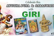 Aayudha puja & Saraswathi puja / Celebrate Aayudha puja & Saraswathi puja with GIRI