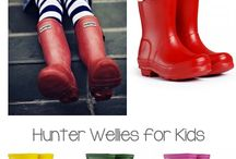 Hunters wellies for kids