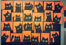 Halloween / Activities, art, games and resources with a Halloween theme for the classroom.