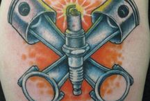 Tattoos - Automotive / For those who take their automotive love to the extreme!
