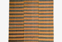 Banded Covers / These kilims are typically light and thin, perfect for bed-covers or table-coverings. These hand-woven kilims are designed specifically for this purpose and their striped style is typical of Anatolian coverings.