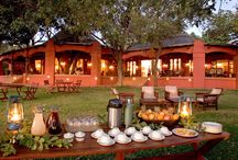 Sanctuary Chobe Chilwero - Okavongo Delta, Botswana / Luxurious Riverside Retreat. Chobe Chilwero is situated in northern Botswana on the banks of the Chobe River. The architecture draws on African themes stretching from northern Botswana to northern Mozambique, whilst the natural terracotta colours are resonant of the Kalahari.