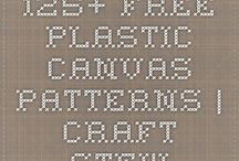 plastic canvanas patterns / by Mary Quinlivan-Gibbard