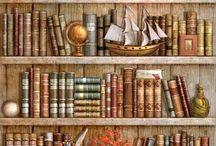 Книги,полки