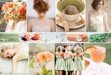 metro club bridal show: peach+mint  / by Simply Events: Full Service Event Planning