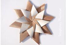 Stern aus Papier basteln