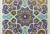 Orientalische Muster