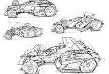 Cars Drawing / Raccolta di disegni di auto