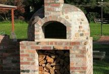 Outdoor cooking/pizza oven