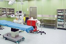 Operating & Surgical Room Flooring / This board contains photos of flooring options specialized for operating and surgical rooms.
