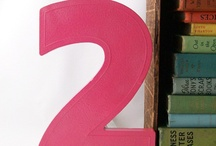 numbers and letters / by Audrey Woollen | Urbanic Paper