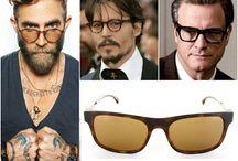 Kemik Çerçeveli Gözlükler