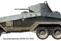 WW2 - SDKFZ 231 6-RAD